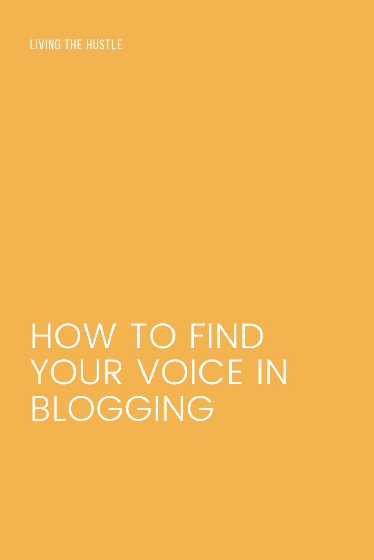 How To Find Your Voice In Blogging