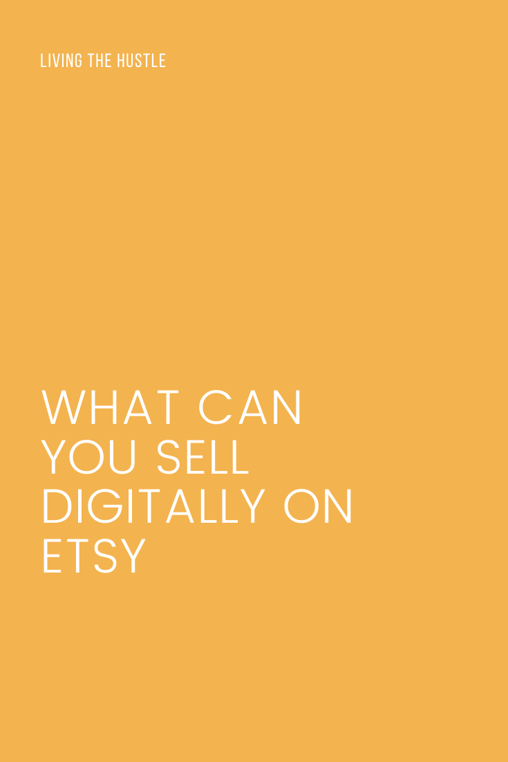 what can you sell digitally on etsy